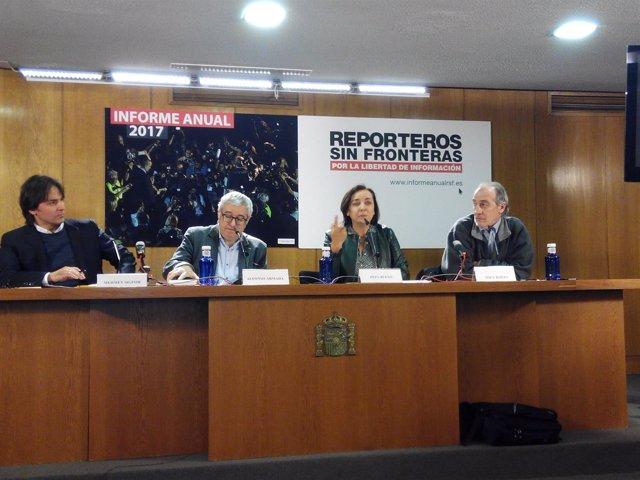 RSF presenta el informe anual 2017