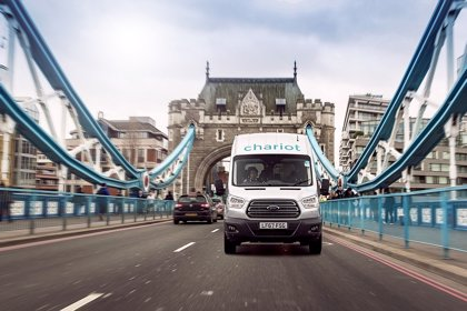 Ford inicia en Londres un servicio para conectar las zonas con difícil acceso al transporte público