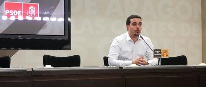 """Villagrasa (PSOE) critica """"el cinismo y la falsedad"""" de la política de oposición del PP Aragón"""