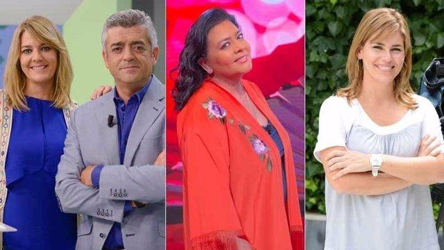 Presentadores de Canal Sur Televisión