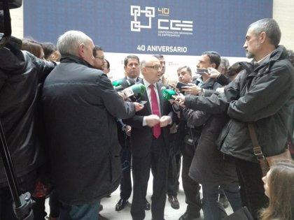 """Montoro no tiene """"una preocupación especial"""" por la situación económica del Ayuntamiento de Granada"""