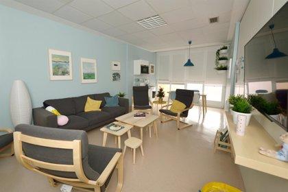 Cuidados Intensivos de Pediatría del Hospital de Cruces estrena una nueva sala de descanso destinada a familiares