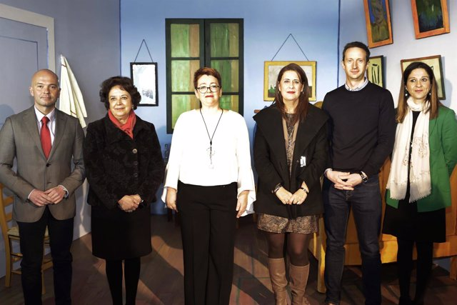 Inauguración de la muestra 'Van Gogh Alive'