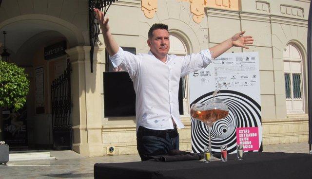 Director Artístico Festival de Magia Solidaria, Javi Martín