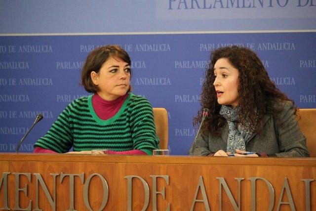 Elena Cortés e Inmaculada Nieto