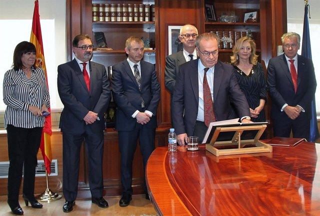 Toma de posesión de Jorge Fabra Utray como consejero del CSN