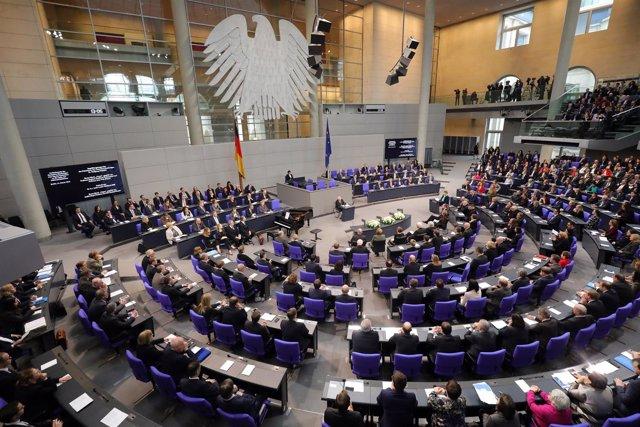 Vista general del Bundestag