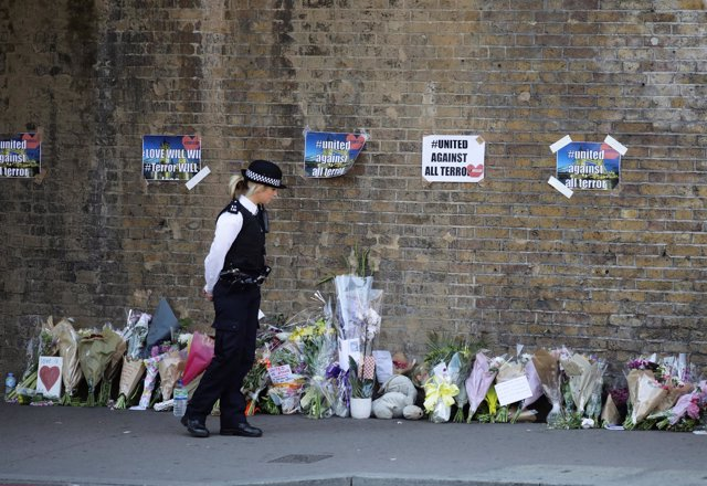 Homenaje a las víctimas de Finsbury Park