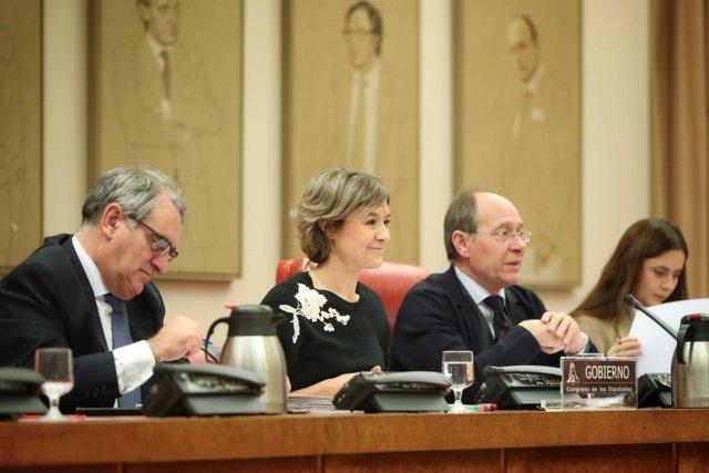 La ministra Tejerina en la Comisión de Cambio Climático del Congreso