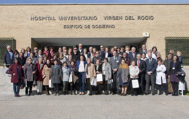 El Hospital Virgen del Rocío rinde homenaje a sus jubilados