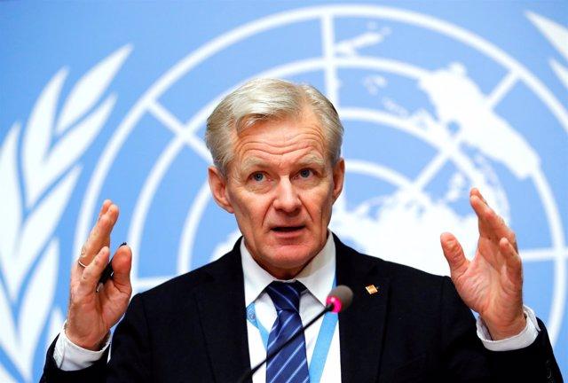 Jan Egeland, asesor humanitario de la ONU para Siria