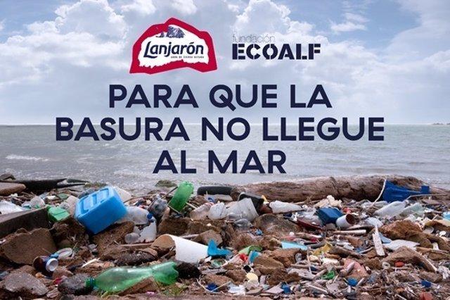 Cartel Lanjaron y Ecoalf