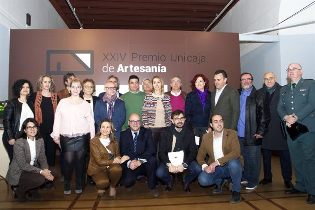 Entrega del XXIV Premio Unicaja de Artesanía.