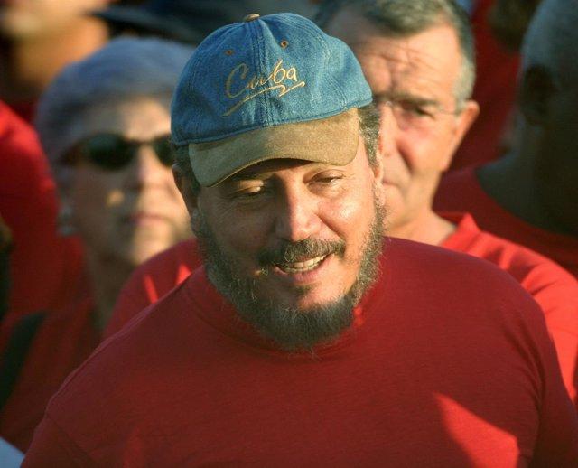 Fidel Castro Díaz-Balar, hijo mayor de Fidel Castro.