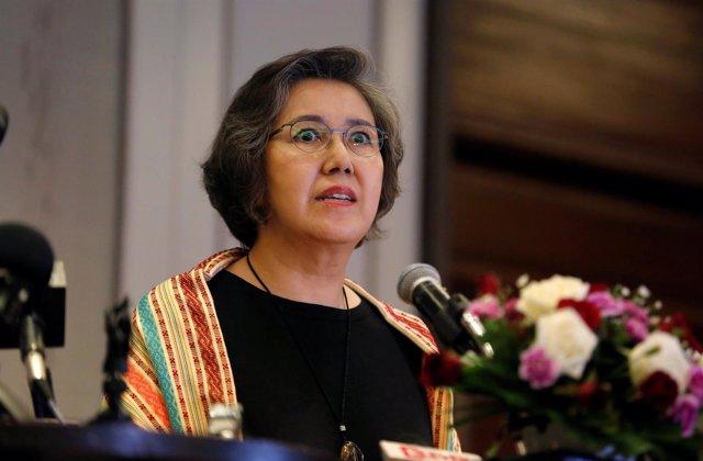Relatora especial de Naciones Unidas, Yanghee Lee, en Ragún