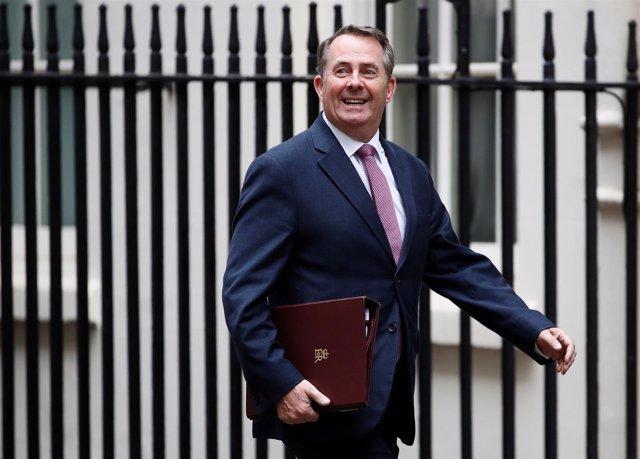 Liam Fox, ministro de Comercio británico
