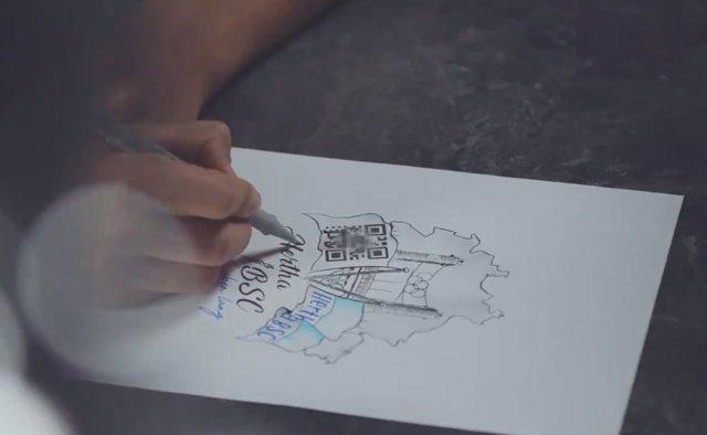 Hertha BSC tatuaje