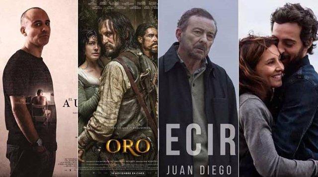 Películas nominadas a los Goya con participación de Canal Sur