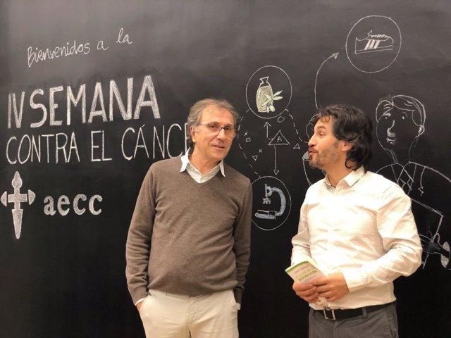 Inauguración de la IV Semana contra el Cáncer de la AECC de Jaén.