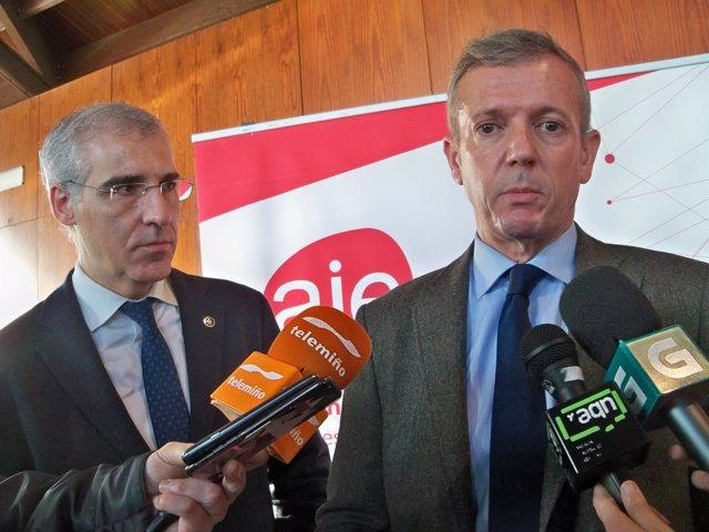 Rueda y Francisco Conde