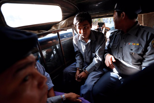 Kyaw Soe Oo, periodista de Reuters detenido en Birmania