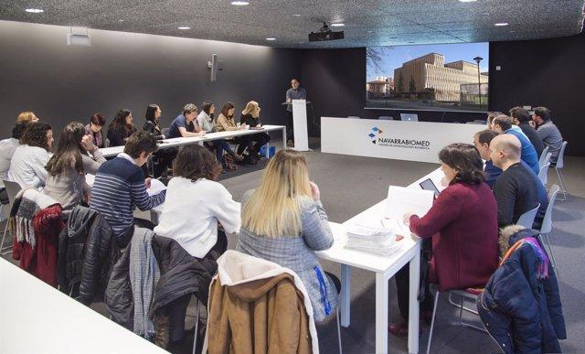 Jornada entre CEIN y Navarrabiomed