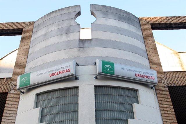Urgencias en el Hospital Macarena en Sevilla