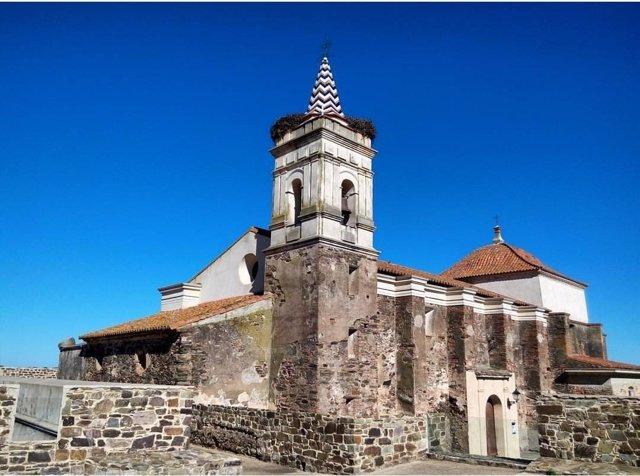 Fuerte fortificado de Paymogo (Huelva).