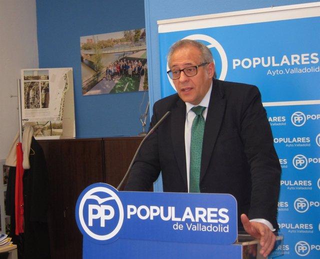 El portavoz del PP en el Ayuntamiento de Valladolid, Antonio Martínez Bermejo