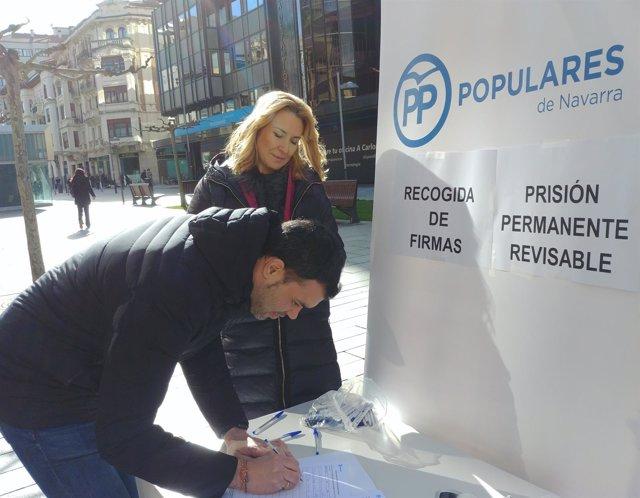 Recogida de firmas del PPN para mantener la prisión permanente revisable