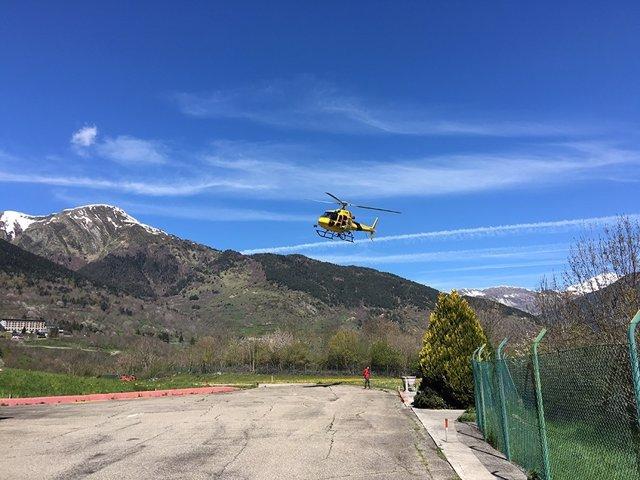 Helipuerto de Vielha (Lleida)