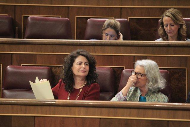 Matilde Asián y Beatriz Rodríguez Salmones