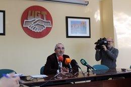 Juan Carlos Hidalgo, secretario de Política Sindical de UGT-A.