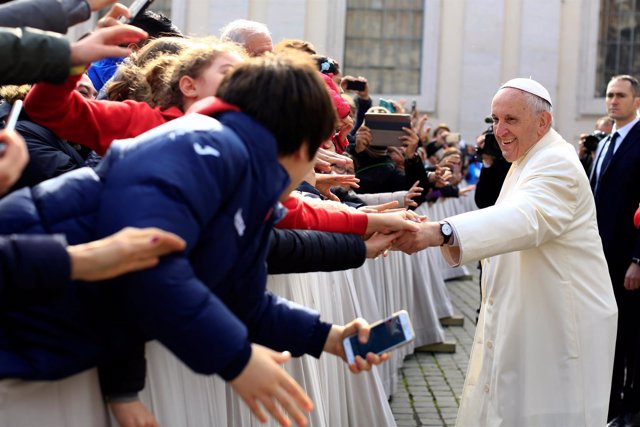 El Papa en la Plaza de San Pedro