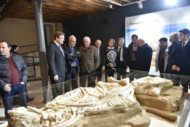 Inauguración Centro Paleontológico de Enciso por Ceniceros