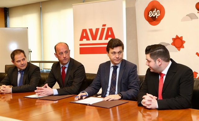 Firma EDP y Avia