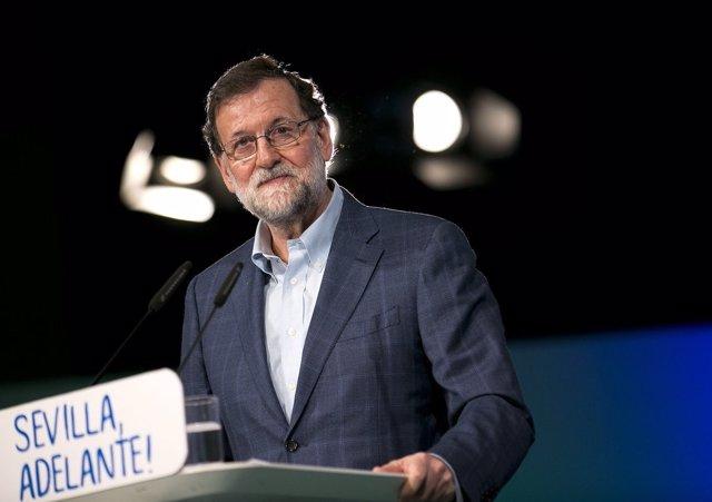 El presidente del Gobierno y del PP, Mariano Rajoy