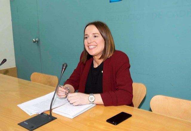 Ana Carrera, diputada de Empleo en Diputación de Cádiz