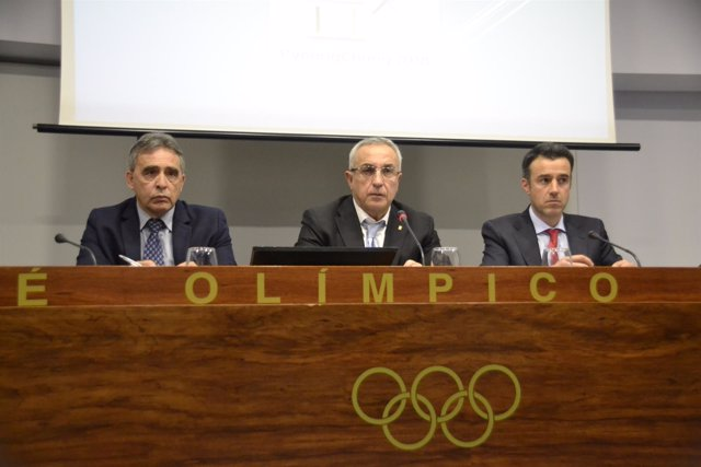 Alejandro Blanco, May Peus y Ricardo Leiva