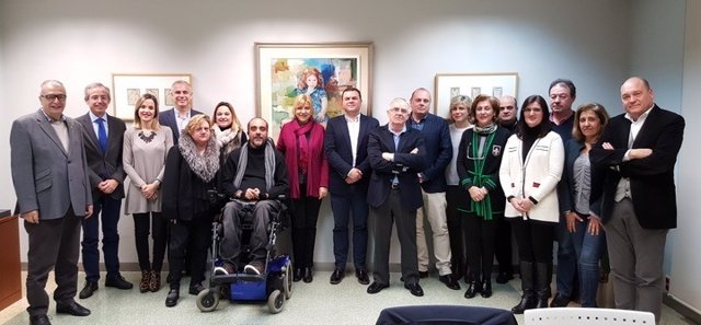 Foto tras la reunión