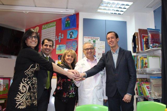 El área de Oncología Pediátrica renueva sus sillones gracias a Argar