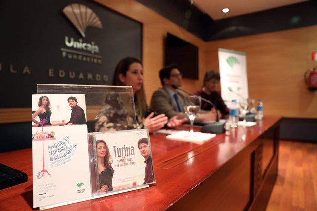 Presentación de obras para piano de Joaquín Turina
