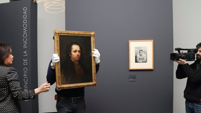 Incorporación Autorretrato de Goya a la exposición del Museo Lázaro Galdiano