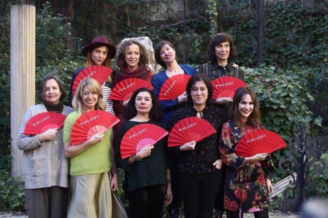 Abanicos para reivindicar el papel de la mujer en la gala de los Goya