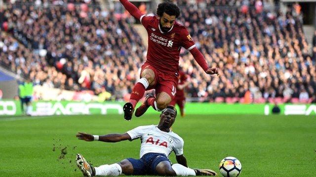 Salah (Liverpool) y Aurier (Tottenham)
