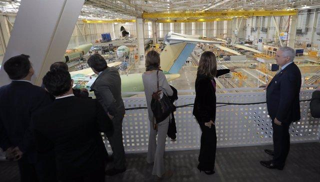 Centro de visitas de Airbus en San Pablo.