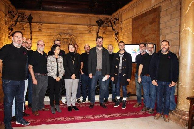 Presentación de la candidatura de Palma como sede del festival 'Various Voices'