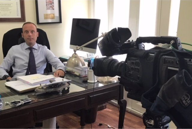 Javier Rincón, abogado de la soldado que ha denunciado agresión sexual