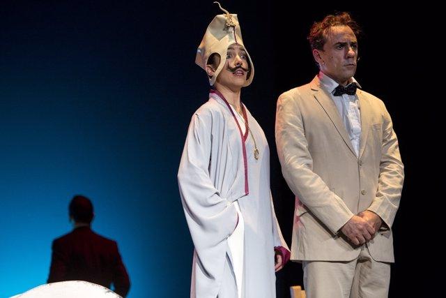 Obra teatro Espejo. Capricho Escénico Teatro Cervantes