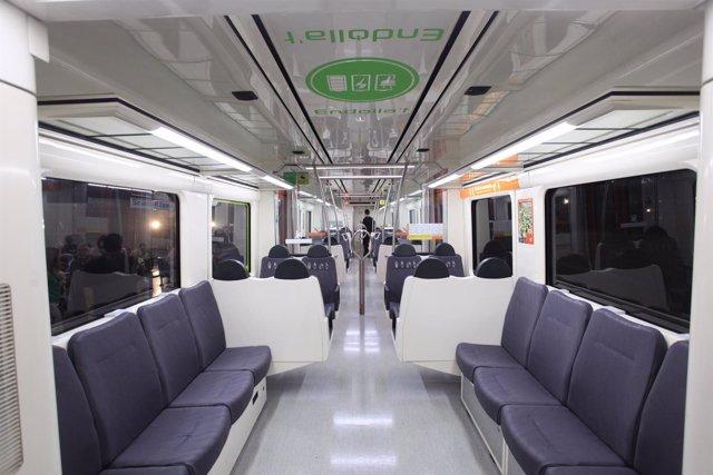 Nuevos trenes 213 de FGC